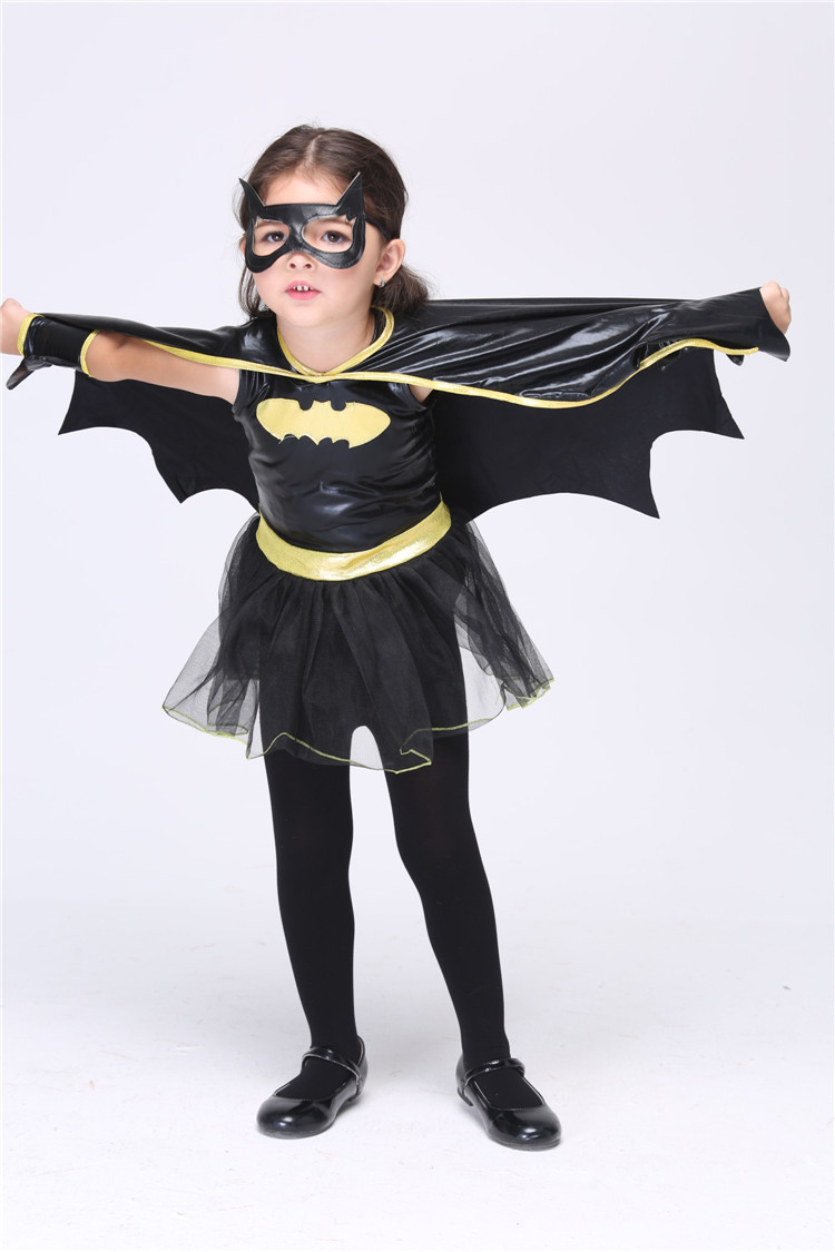 2017 NEW STYLE Girls Lovely Cute Batman Costume Halloween Carnival Cosplay  Dress In Girls Costumes From Novelty U0026 Special Use On Aliexpress.com ...