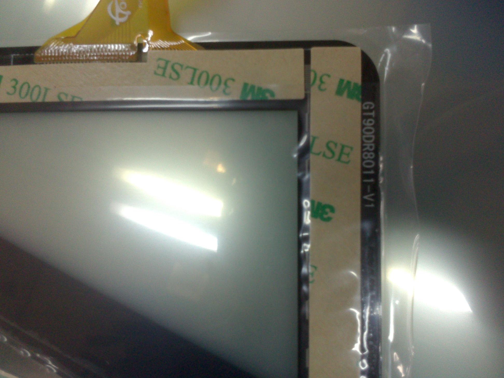 9 inch new flat panel computer capacitive touch screen handwriting external screen number GT90DR8011 v1