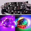 5M DC12V WS2811 5050 Digital RGB Color LED Strip 30LED/m 150LEDs Non-Waterproof dream color Led Strip 10mm Black PCB