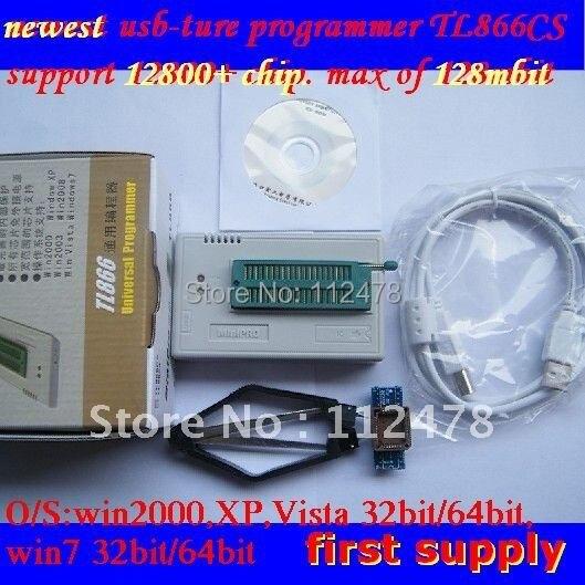Livraison gratuite 100% XGECU V8.30 MiniPro TL866CS TL866A TL866II Plus USB universel Bios nand programmeur + 8 IC adaptateur + Pl clip