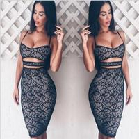 2017 New Hot Sale Harness Tight Pack Hip Dew Free Liberty Lace Dress Sexy Dress Free