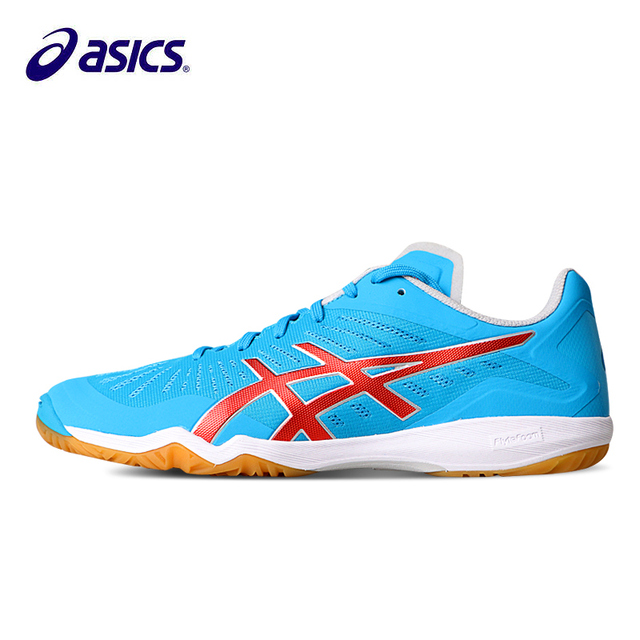 8ceba6f6a414 2018 New Asics Attack Dominate Ff Table Tennis Shoes Professional Men  Indoor Sneakers For Tounament Sports Sneakers Tpa334