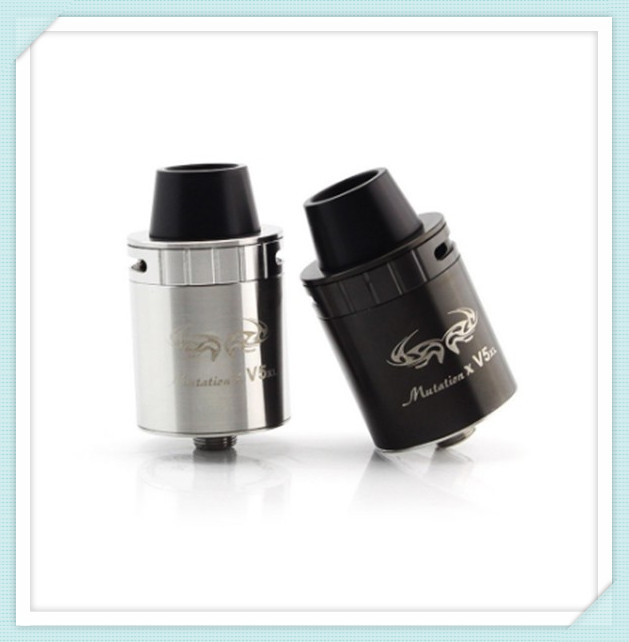 Unicig Indulgence Mutation X V5 XL RDA Atomizer featurs a two post and dual terminal build
