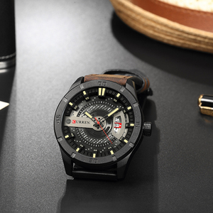 Image 5 - CURREN Hot Fashion Creative Watches Casual Military Quartz Sports Wristwatch Display Date Male Clock Hodinky Relogio Masculino