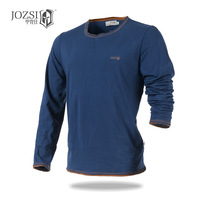 2016 spring new sports T shirts long sleeve men clothing 100% COTTON quick dry breathable O neck outdoor coolmax T shirts