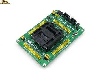 QFP144 LQFP144 STM32F10xZ STM32L1xxZ STM32F2xxZ STM32F4xxZ Yamaichi STM32 IC Test Socket Adapter 0.5mm Pitch