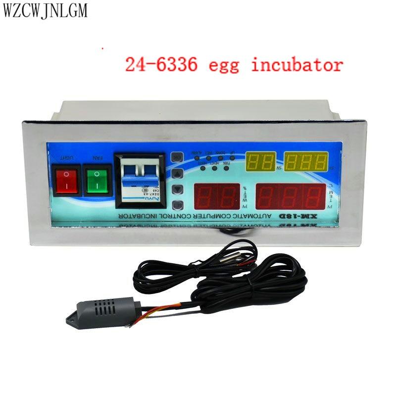 전체 자동 계란 부화기 컨트롤러 XM 18D 보온장치 습도 센서 판매 1 세트-에서케이지 & 액세서리부터 홈 & 가든 의  그룹 1