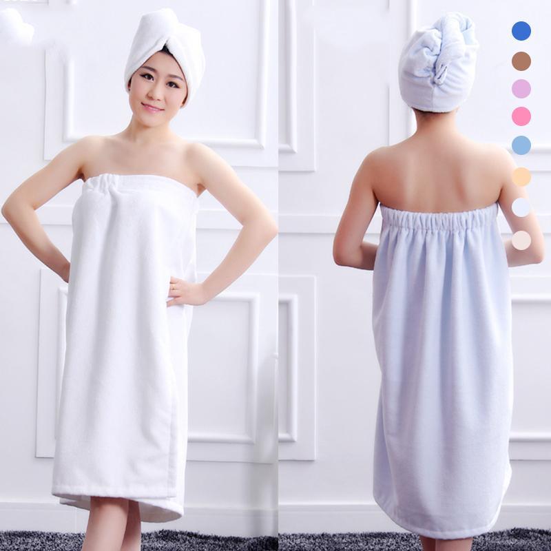 Soft Women font b Bath b font Towel Set Shower Tool font b Accessories b font
