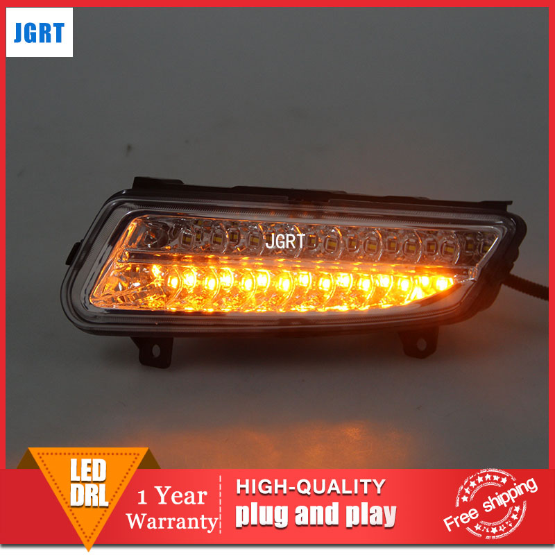 car styling 2011-2013 For VW POLO LED DRL For POLO led fog lamps daytime running light High brightness guide LED DRL 2011 2013 vw golf6 daytime light free ship led vw golf6 fog light 2ps set vw golf 6