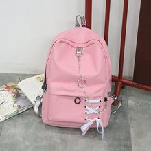 71156d78e4 College Wind Women Large Capacity Backpack School Bags For Teenagers Female  Oxford Cloth Travel Bags Girls