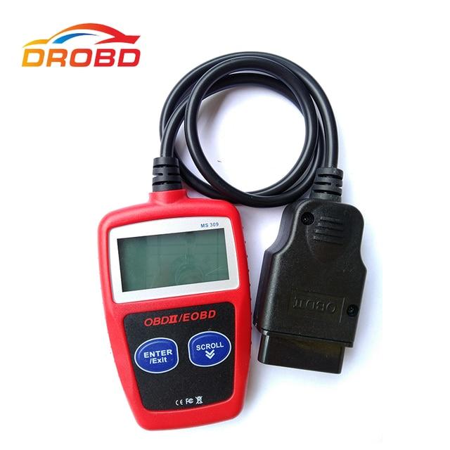 新到着maxiscan MS309 OBD2 obdiiスキャナーコードリーダー車のms 309診断ツール送料無料