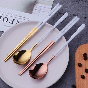 Korean Spoon Chopsticks Sets 1
