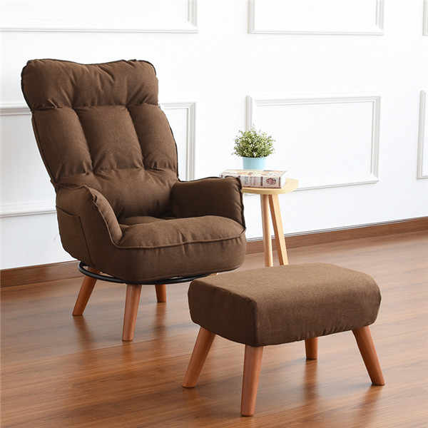 Contemporary Swivel Accent Arm Chair Home Living Room Furniture Reclining  Folding Armchair Sofa Low Swivel Chair For Elderly
