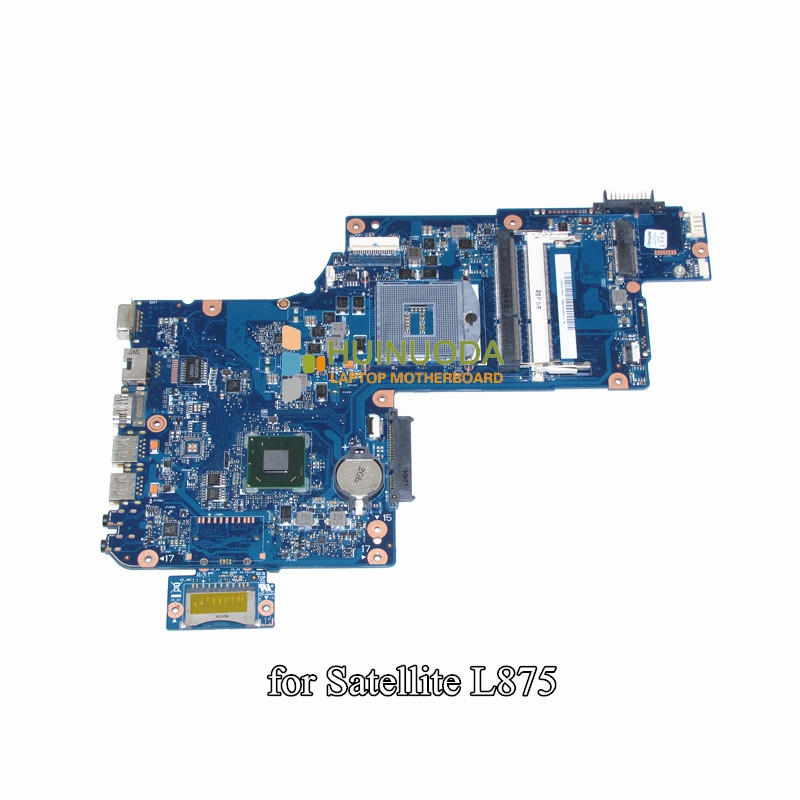 NOKOTION H000043480 laptop motherboard For toshiba satellite L870 C870 L875 17.3 inch HM76 HD4000 intel Graphics ddr3 Mainboard nokotion for toshiba satellite c850d c855d laptop motherboard hd 7520g ddr3 mainboard 1310a2492002 sps v000275280