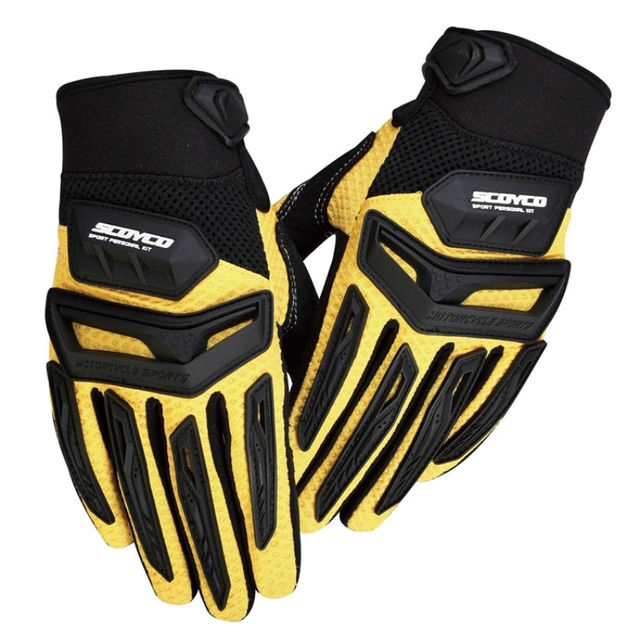 Protective SCOYCO MX54 motocross guantes ciclismo motorcycle motos luvas motocicleta ATV gloves Dirt Bike motorbike motociclista