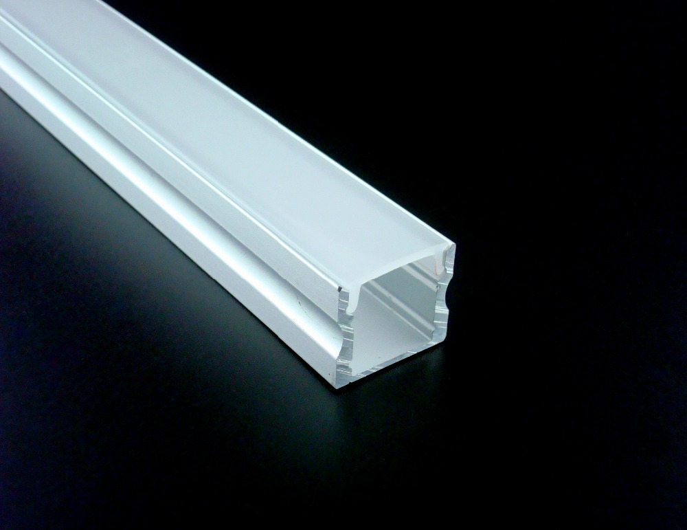 50m 2515B aluminum profile with cover for width up to 12mm led strips wood kitchen cabinets exhibition boot stores shelf lights free shipping new arrival 35pcs pack 2m pcs led aluminum profile for led strips with milky or transparent cover and accessories