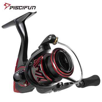 Piscifun Honor XT Fishing Reel Up to 15kg Max Drag 10+1 Bearings 5.2:1 / 6.2:1 Gear Ratios Saltwater Spinning Reel - DISCOUNT ITEM  49% OFF All Category