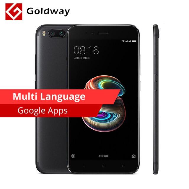 "Original Xiaomi Mi 5X Mi5X Mobile Phone Snapdragon 625 Octa Core 4GB RAM 64GB ROM 5.5"" FHD Dual 12.0MP Camera Fingerprint MIUI"