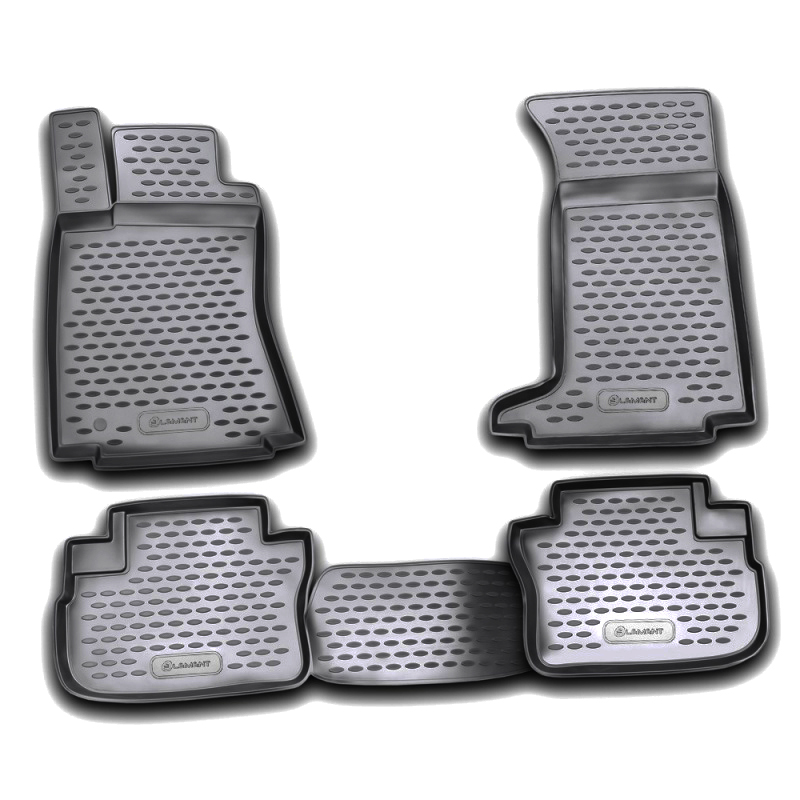 Mats in the salon For CADILLAC CTS 06/2007->, 4WD, 4 PCs (polyurethane) mats in the salon for cadillac cts 06 2007 4wd 4 pcs polyurethane