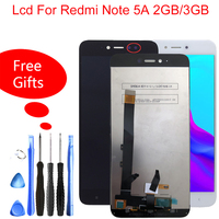 5.5 IPS Display For Xiaomi Redmi Note 5A LCD Touch Screen For Redmi Note 5A Prime/Pro LCD redmi Y1 / Y1 Lite Display
