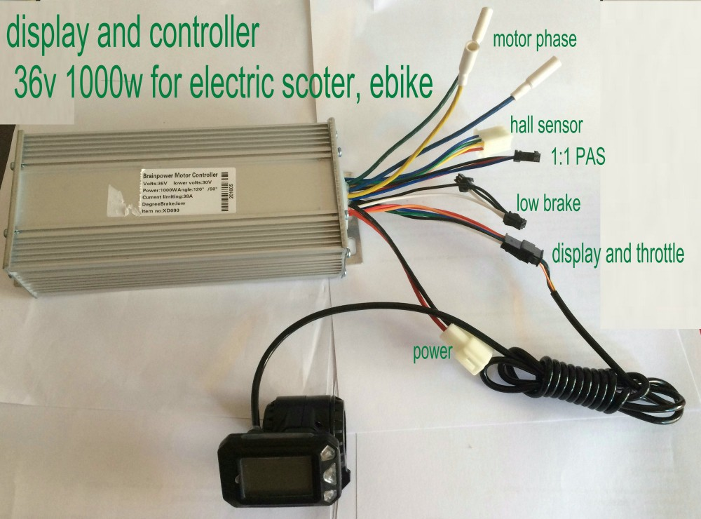 36v 1000w PH02 DISPLAY AND CONTROLLER