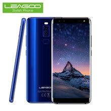 Leagoo S8 Smartphone 5.72 18:9 Plein Écran Android 7.0 Octa base 3 GB RAM 32 GB 13MP 4 Caméras D'empreintes Digitales 4G Tactile Android Téléphones