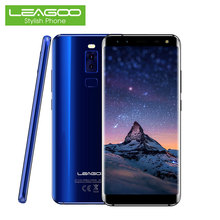 Leagoo S8 Smartphone 5.72 18:9 Full Screen Android 7.0 Octa Core 3GB RAM 32GB 13MP 4 Cameras Fingerprint 4G Touch Android Phones