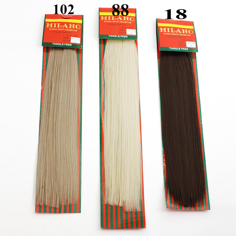 1pcfree Shipping Milago Silky Bulk For Braiding 40 Color 1888108