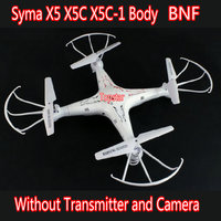 Free Shipping Original Syma X5 X5C X5C 1 BNF 4CH 6 Axis Gyro Remote Control RC Quadcopter Toys Dron Without Camera & Transmitter