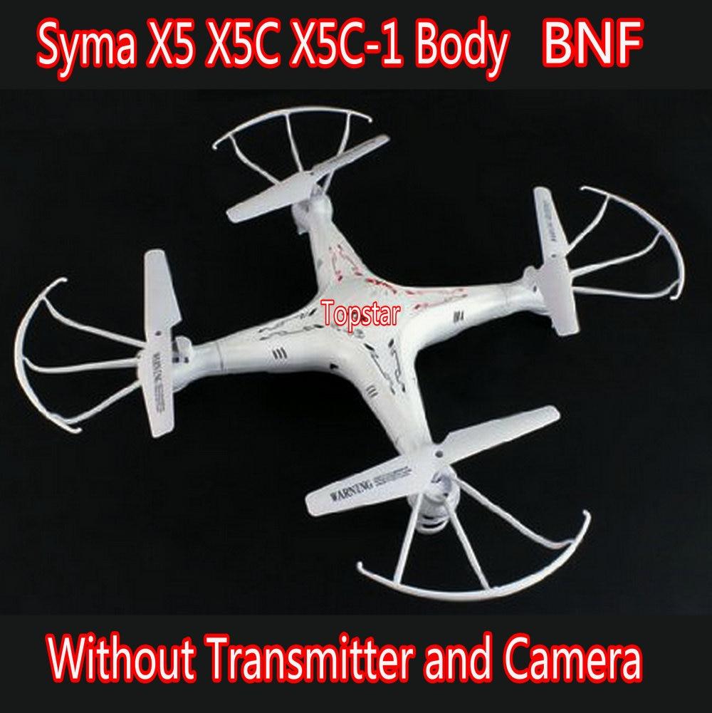 Livraison gratuite originale Syma X5 X5C X5C-1 BNF 4CH télécommande gyroscopique 6 axes RC quadrirotor jouets Dron sans caméra et émetteur