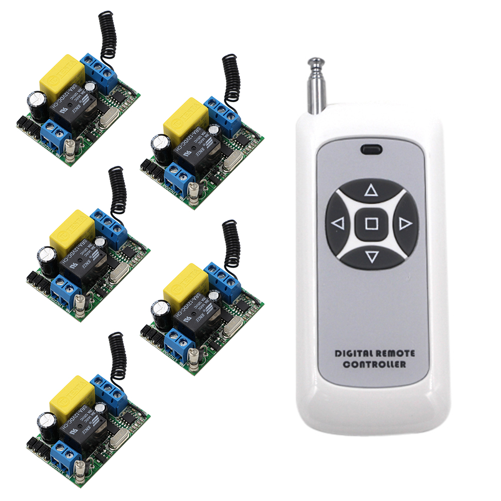 New 220V Wireless Remote Control Switch Receiver Transmitter315/433mhz Remote Control Lighting Lamp LED Water Pump