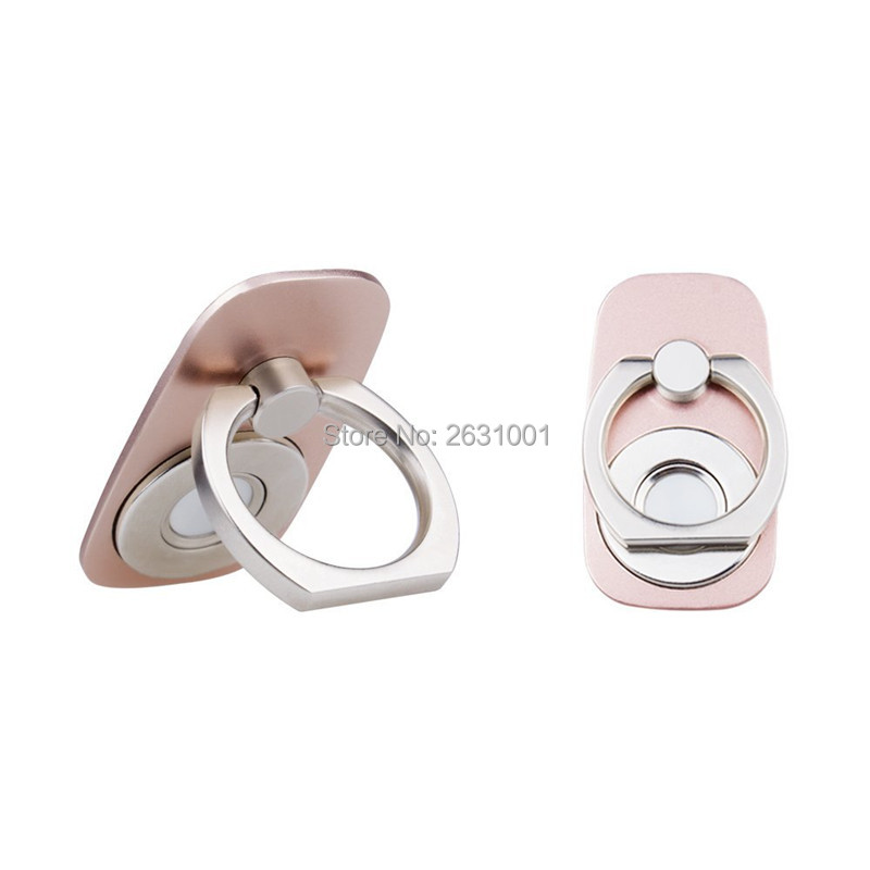 car finger ring phone holder rose gold2