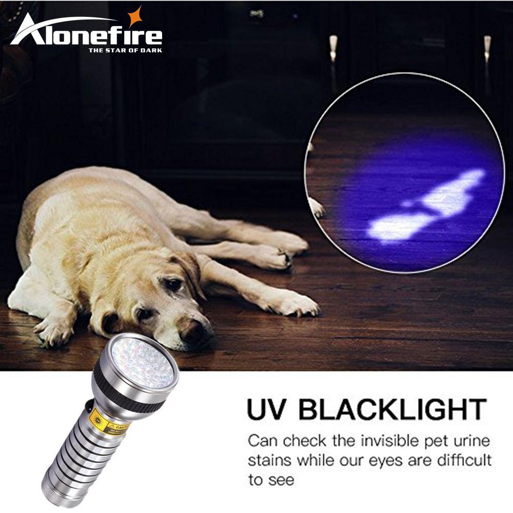 High quality 41 LED UV Flashlight Ultra Violet Flashlight UV Torch 41 LED Anti-fake Flashlight Hiking Torch