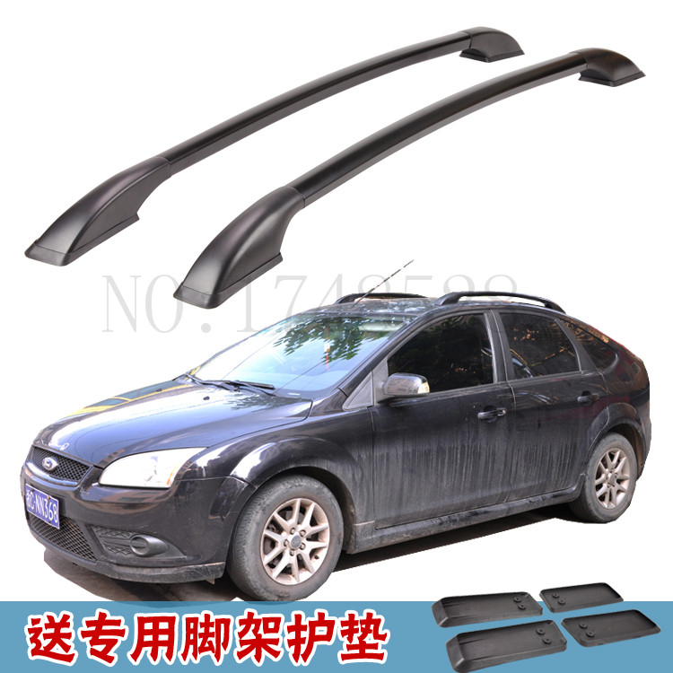 Car styling Aluminum roof luggage rack for ford focus hatchback 1.3M Accessories bbq fuka 2pcs car aluminum abs silver luggage carrier top roof rack cross bars fit for compass 2017 car styling car accessories