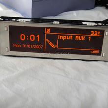 Красный экран Поддержка USB Bluetooth монитор 4-меню чехол для peugeot 307 407 408 citroen C4 C5 12-контактный
