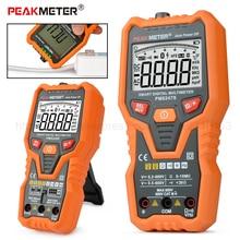 DC/AC Smart Full Auto Range Digital Multimeter NCV Frequency Temperature Capacitance Tester PM8247S/PM8248S все цены