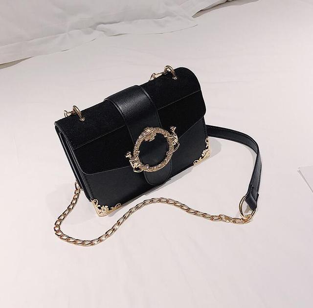 Retro Square Bag PU Leather...
