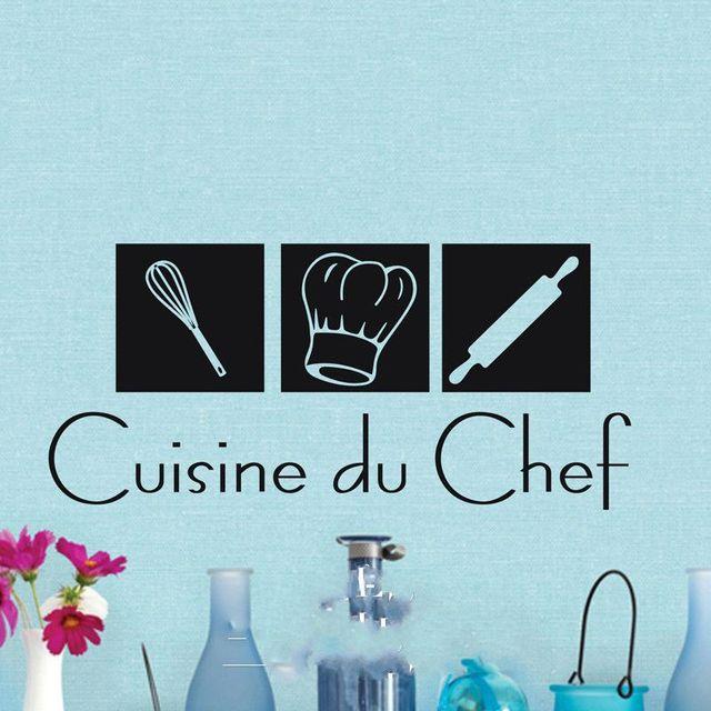 Speciale cucina du chef stickers murali autoadesivi della parete ...