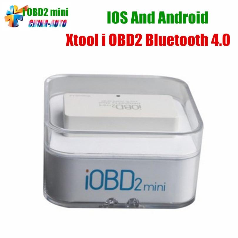 Best Quality XTool IOBD2 MINI Bluetooth V4.0 For iOS/Android IOBD MINI Better Than ELM327 ELM 327 Free Shipping