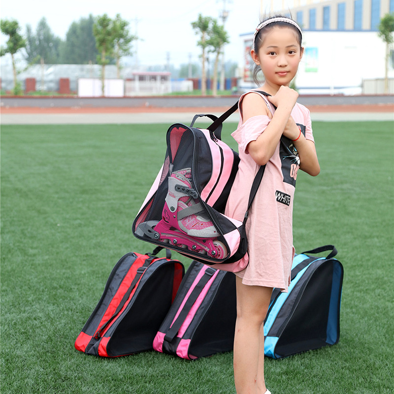 Image 2 - Quality Mcro Roller Skating Shoes Backpacks Inline Skate Shoes Shoulder Bags/Handbags 3 Colors Available Skateboard Skating Bag-in Skate Board from Sports & Entertainment