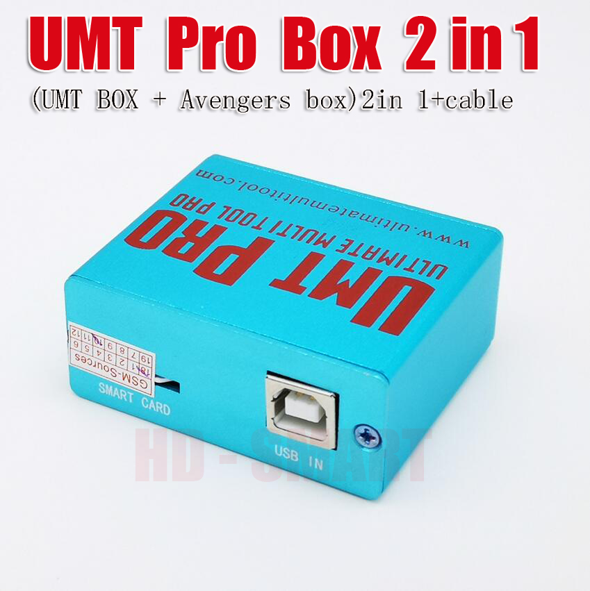 latest version UMT Pro Box (UMT BOX + Avengers box)2in 1+cable Free shipping
