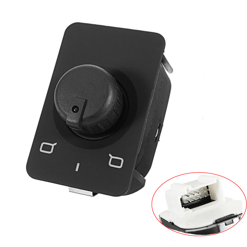 Car Side Mirror Switch Control Knob Button for Audi A3 A6 C5 ALLROAD 1996 1997 1998 1999 4B0 959 565A 4B0959565A image