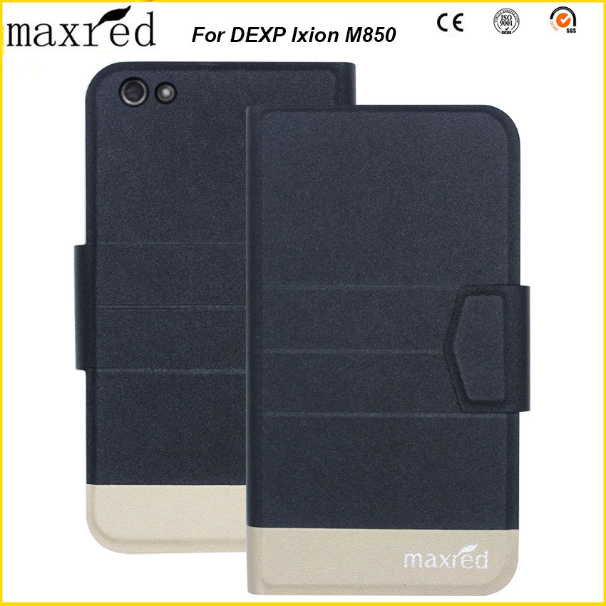 Maxred 5 Colors Original! DEXP Ixion M850 Case High Quality Flip Ultra-thin Luxury Leather Protective For