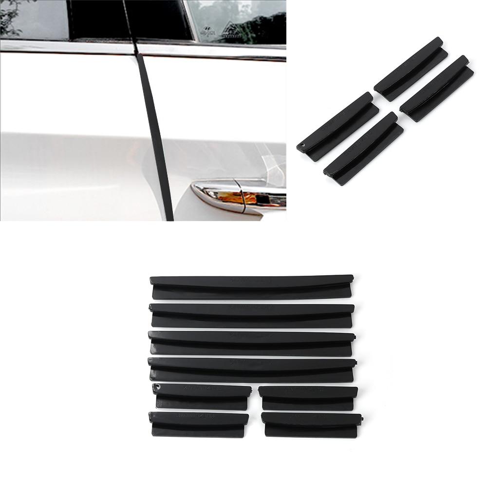 8pcs Car Accessories Door Edge Guard Strip Scratch Protector Anti-collision Trim