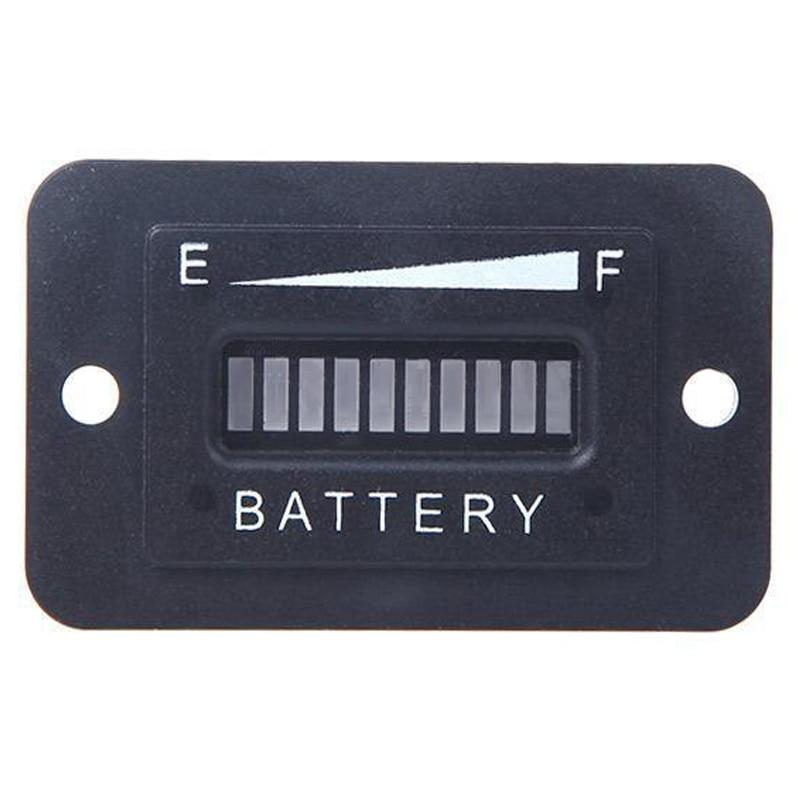 <font><b>Battery</b></font> Status Charge Indicator Monitor Meter Gauge LED Digital <font><b>12V</b></font> &#038; <font><b>24V</b></font> UK