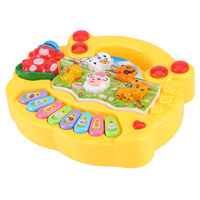 детские музыкальные игрушки с животными и роялем, развивающие игрушки для детей, 2 цвета, развивающая музыкальная игрушка