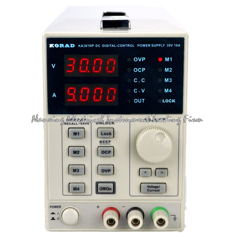 FAST ARRIVAL KORAD KA3010P DC Power Supply Programmable 0-30V 0-10A High Precision 10mV/1mA Maintenance Inspection fast arrival hspy30v 10a dc programmable power supply output of 0 30v 0 10a adjustable rs232 port