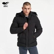 HAI YU CHENG Anorak Male Jackets Winter Mens Coat Cotton Padded Parka Plus Size Windbreaker Jacket Man 2017 Warm Overcoat