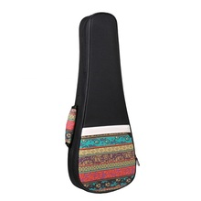 Folk style quality cotton 23 inches wear-resisting small guitar bag,26 inch cool color Ukulele bags