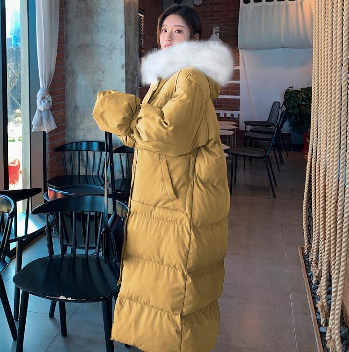 Femmes Manteau Lâche Haute Qualité 2 Hiver Long Canard En Luxe Down 3 Duvet Femme Casual Nouvelle Avec Capuche 1 Manteaux 4 Vestes De 8XNPwOk0Zn